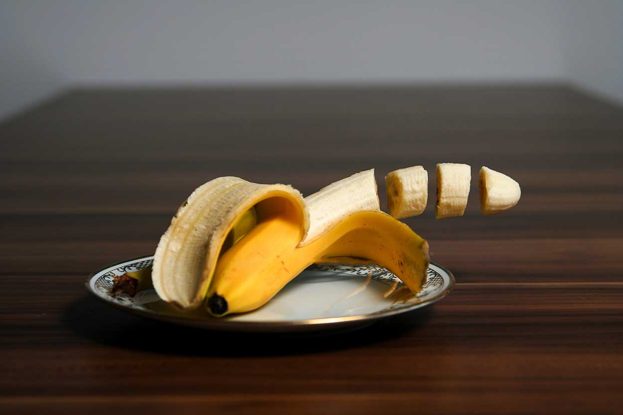 Banán na znítenie krvného tlaku