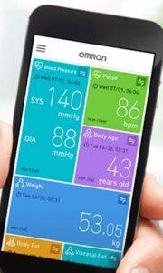 Aplikácia pre tlakomer Omron M7 Intelli IT – Omron Connect